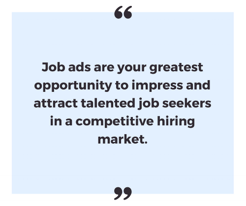 Job ads are a marketing tool - Craft My Content