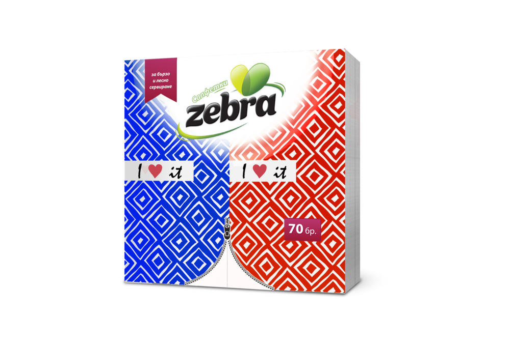 Napkins Zebra folded 70pcs red-blue 3800090303831.png