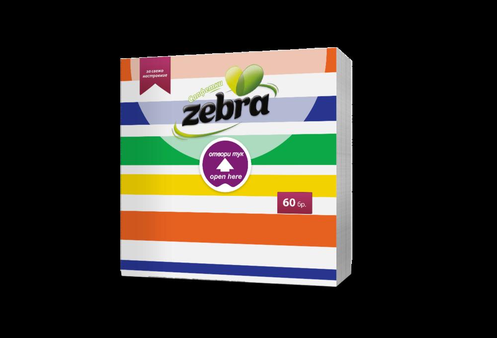 Napkins Zebra lines 60pcs 3800090304081.png