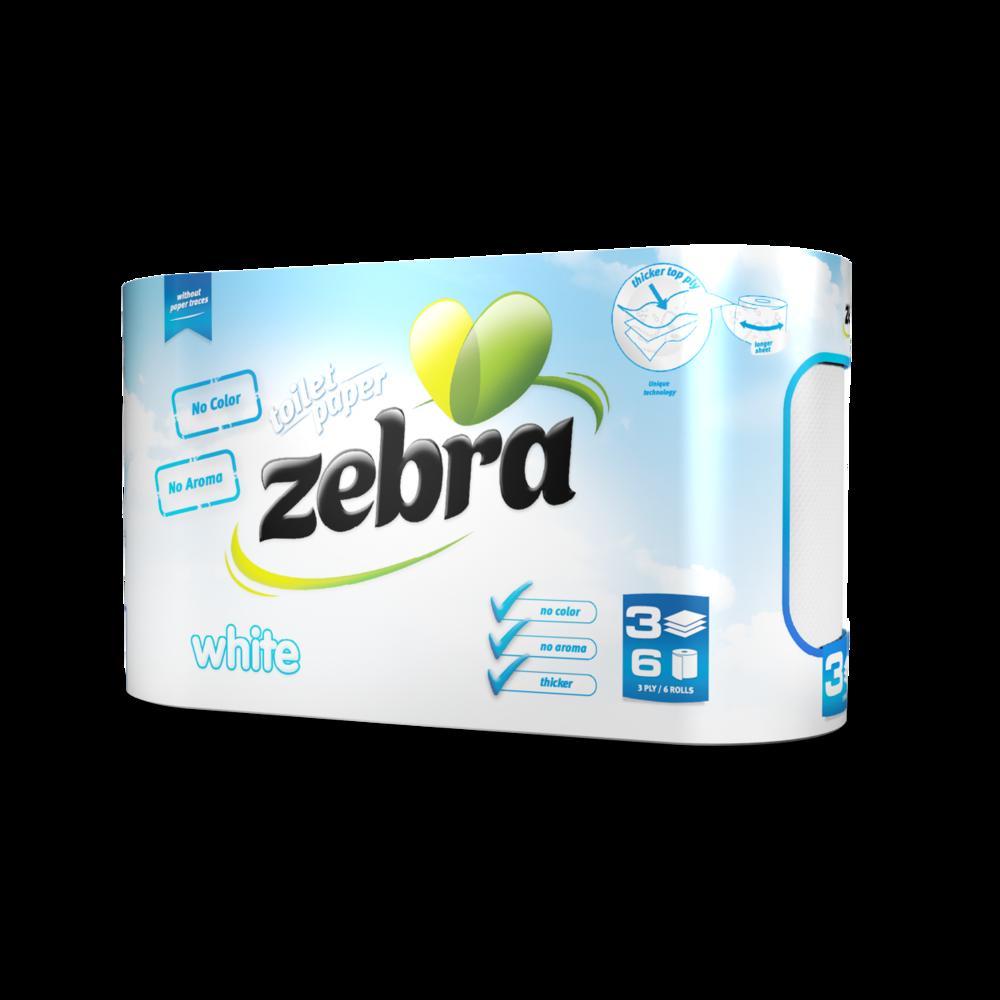 Toilet paper Zebra White 6 rolls 3800090303701.png