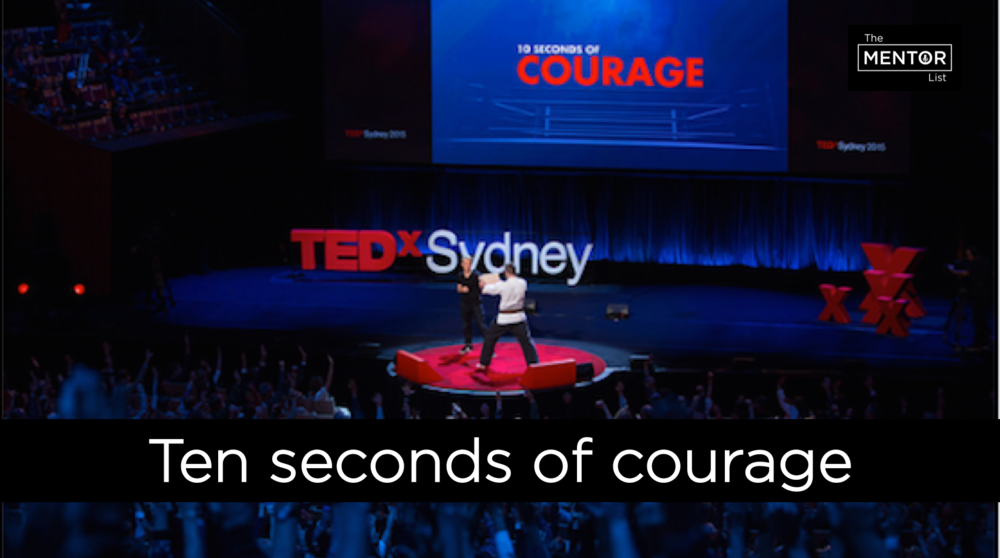 The Mentor List - Nadine Champion - Ten seconds of Courage