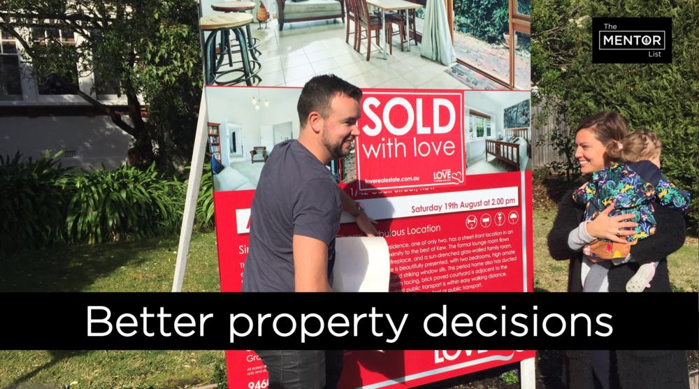 The Mentor List Podcast - David Johnston - Property Planning Australia - Better Property decisions - David Lewis Sold - Love Real Estate
