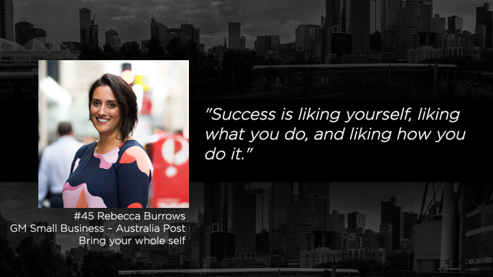 The Mentor List Podcast - Rebecca Burrows - Australia POst