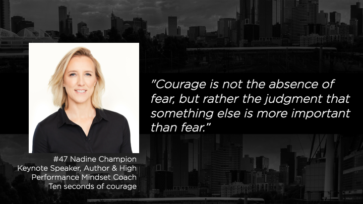 The Mentor List Podcast - Nadine Champion - TML – Article on Episode 47 – Nadine Champion Keywords: Courage, acceptance, wisdom, change, accept, resilience, situation, choices, choice, fear, 5 stages of grief Categories: Well-being, growth, adversity, and resilience How to cope with situations you can't change and change those you can