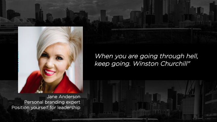 Jane Anderson - Position yourself for leadership — Mentor List