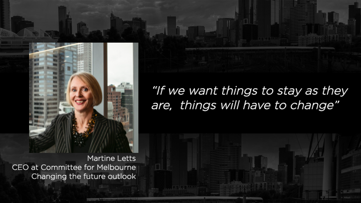 Martine Letts - CEO-Committee for Melbourne