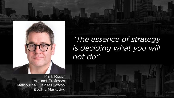Mark Ritson - Adjunct Professor - Melbourne Business School