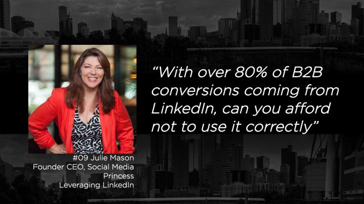 Julie Mason - Founder CEO, Social Media Princess