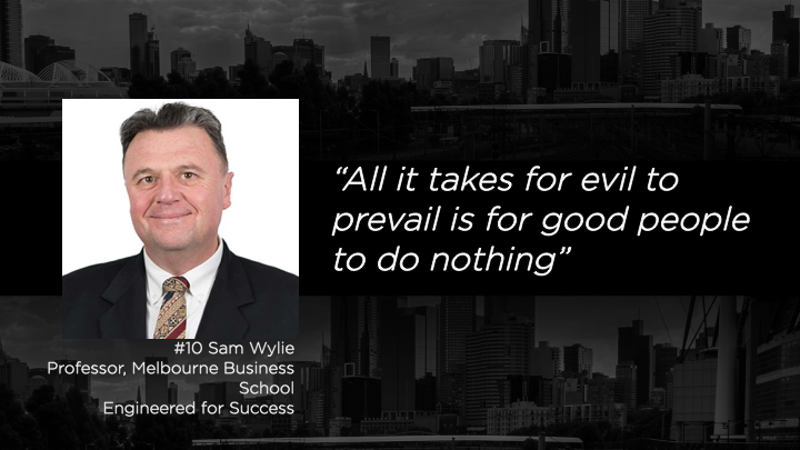 Sam Wylie - Professor, Melbourne Business School