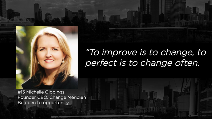 Michelle Gibbings, Founder CEO - Change Meridian