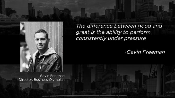 the business olympian freeman gavin