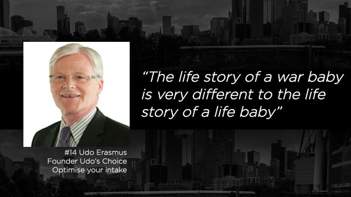Udo Erasmus - Founder, Udo's Choice