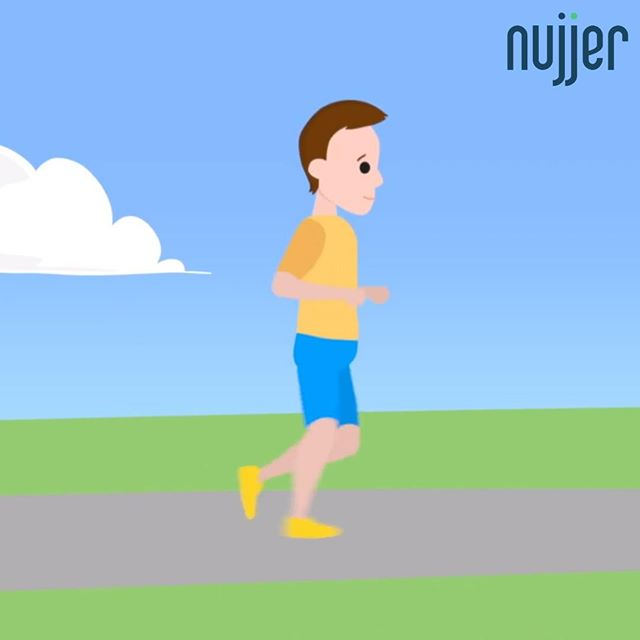 Have you watched the Nujjer animated video? Link in bio #PreventDiabetes #type2diabetes #diabetes #t2d #KeepingActive #digitalhealth #healthtech #wearabletech #nujjer