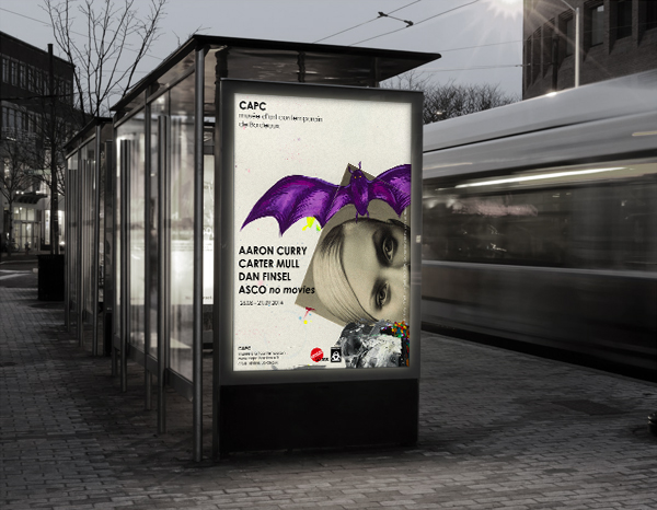 Exhibition Poster in the city