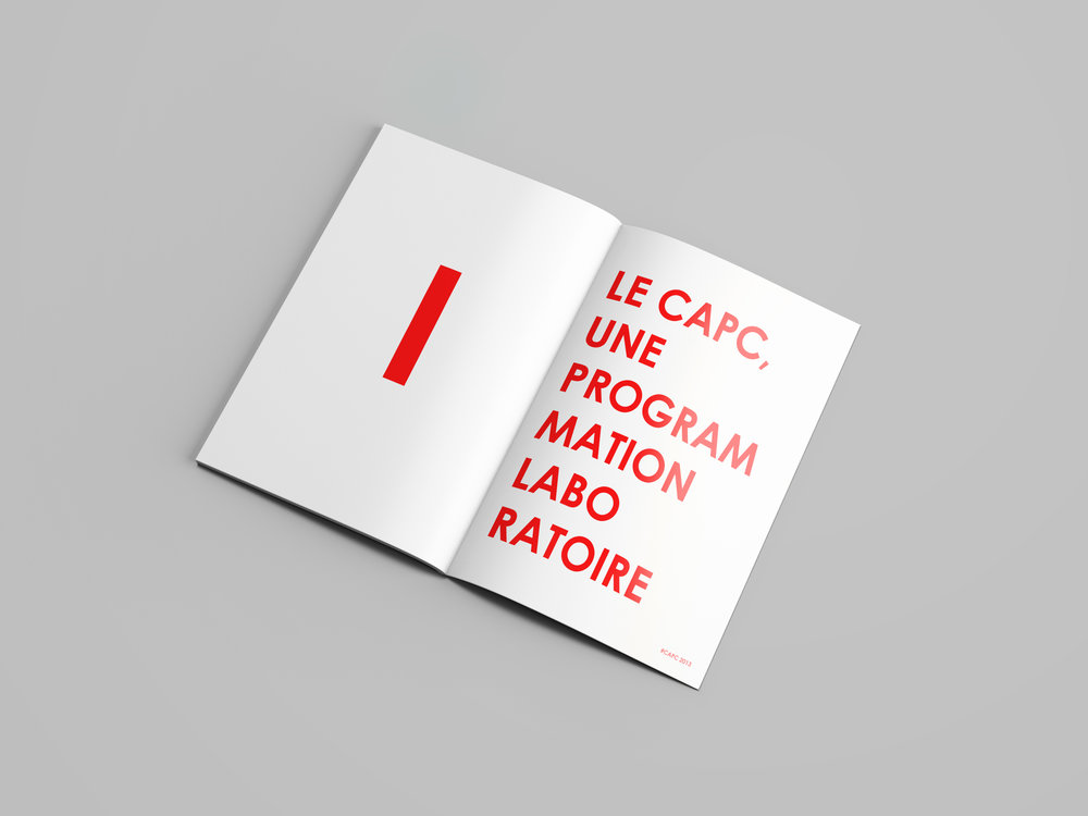 CAPC: Contemporary Art Museum - Sector: Art MuseumWork: Visual Identity, Editorial Design, Marketing Design