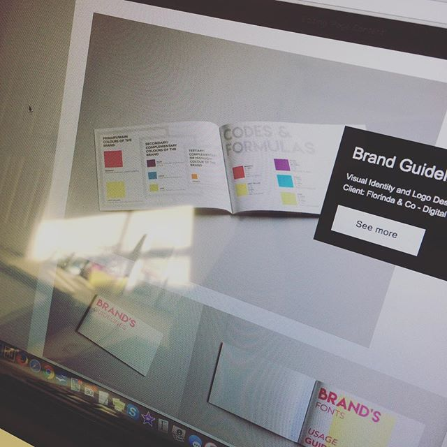 Refurbishing the website with recent work! Was really needed! Soon live... stay tuned! #graphicdesign #london #creativepreneur #entrepreneur #website #logodesinger #branding #design #londondesign