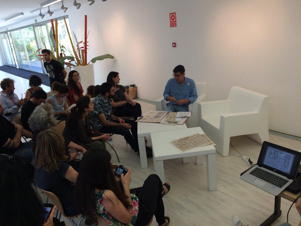Conferencia sobre Grabados en los impresos populares del S.XIX, por Jesús María Martínez González