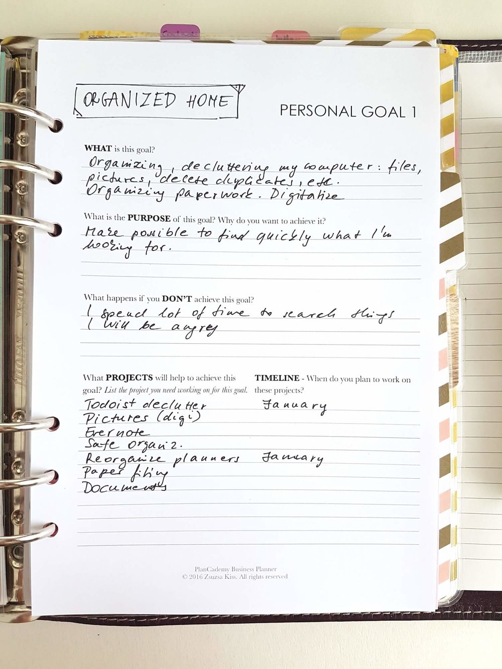 2017 Goals - And How To Make Them Happen - Goal Planner.