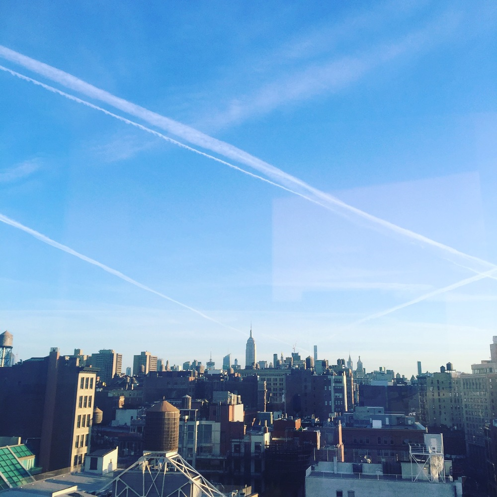 the view from a suite at NOMO SOHO