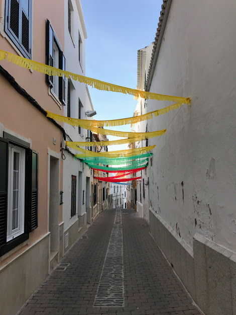 streets of Maó