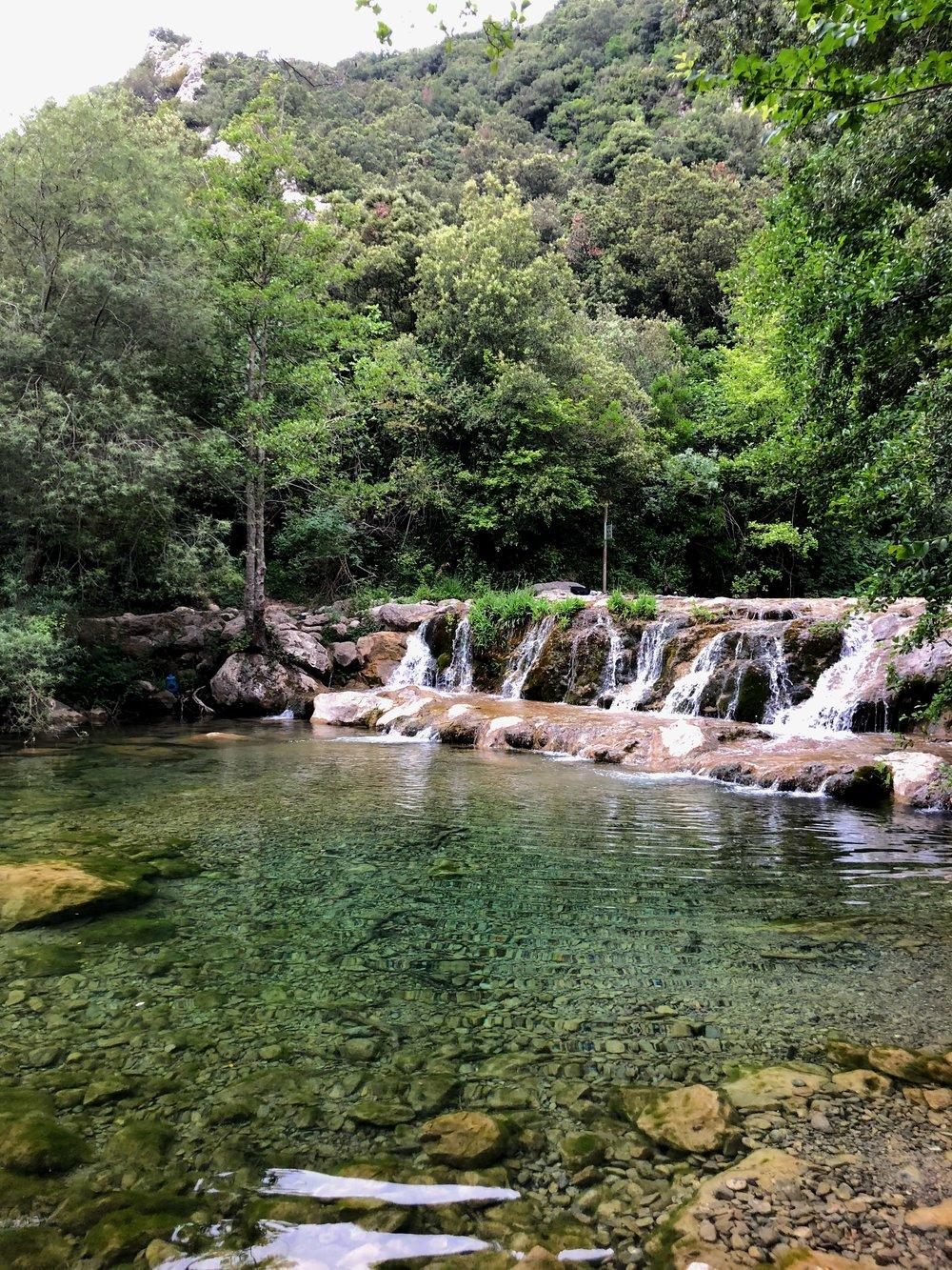 hiking in Alt Garrotxa