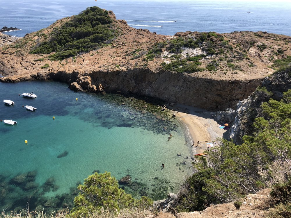 a hidden cove near Cadaqués