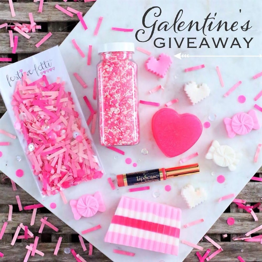 It's a Galentine's Day Giveaway to celebrate you and your bestie this Valentine's Day