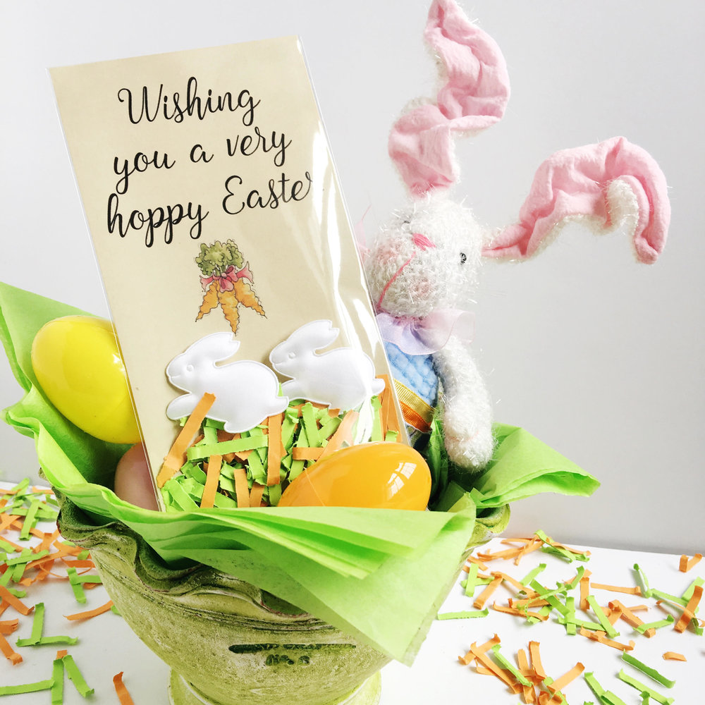 Order your Festive Fetti Easter DIY Kits and let your loved ones know you wish them a very hoppy Easter - Easter Basket fillers - Easter gifts for the place setting dinner table