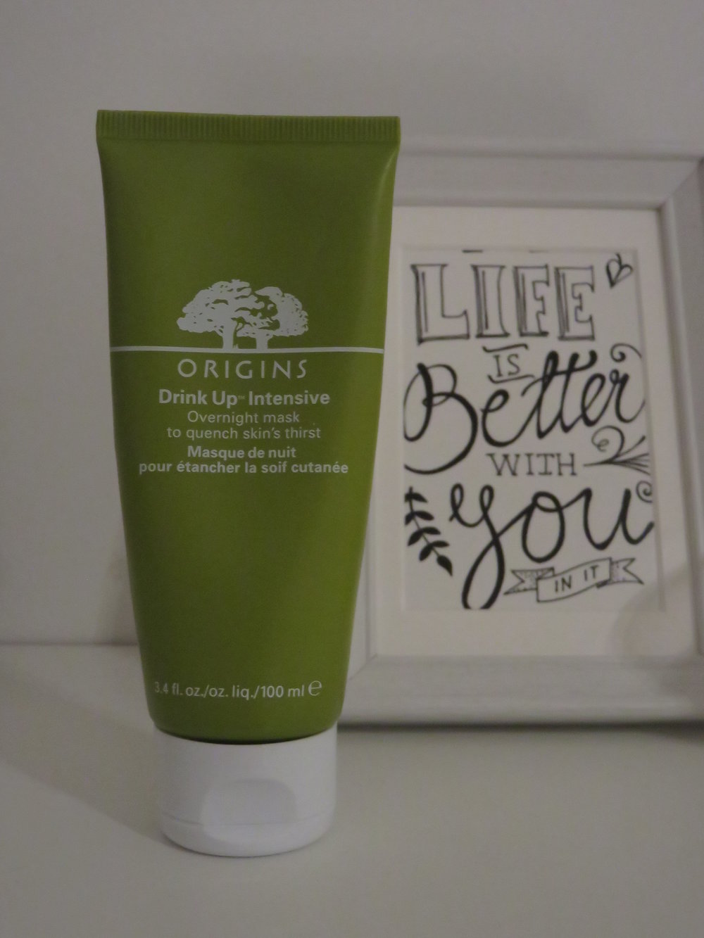 Drink-Up Intensive Overnight mask by Origins.