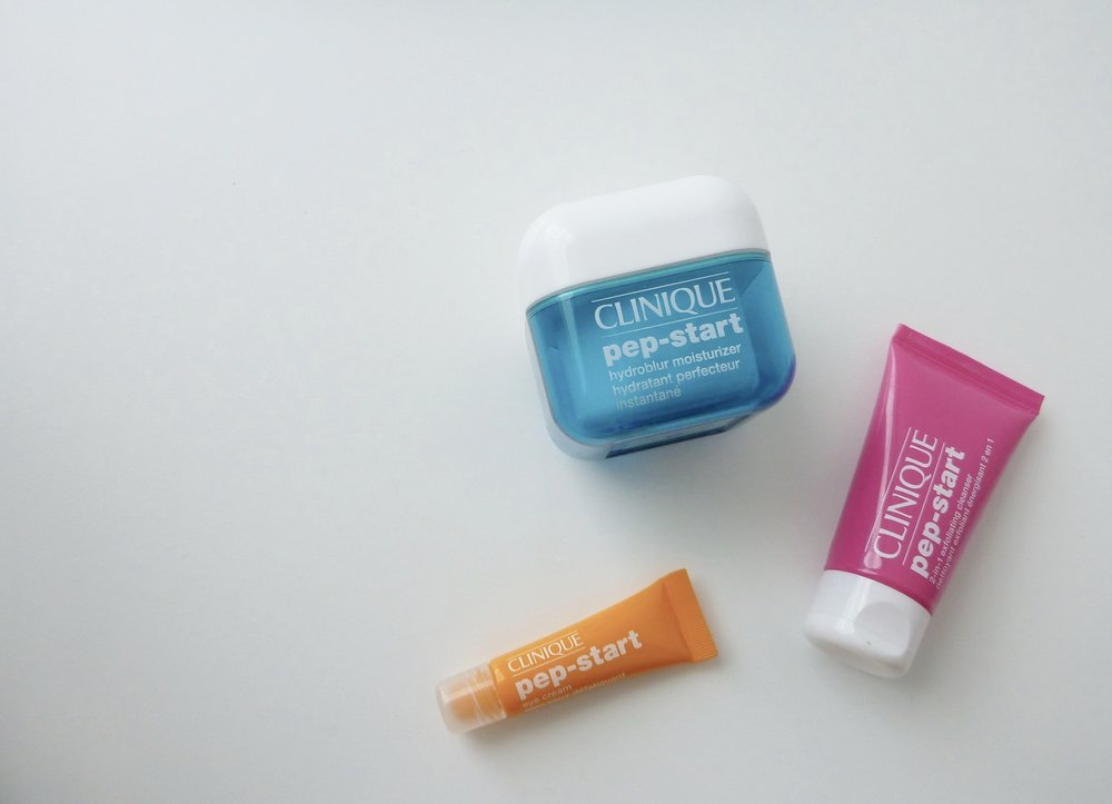 Review ⎸Clinique Pep-Start Collection