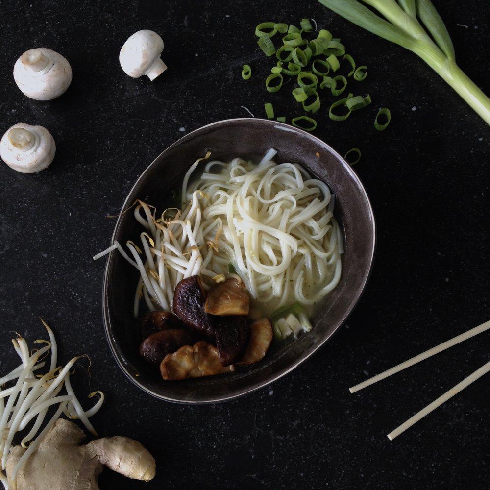Vegan Mushroom Pho