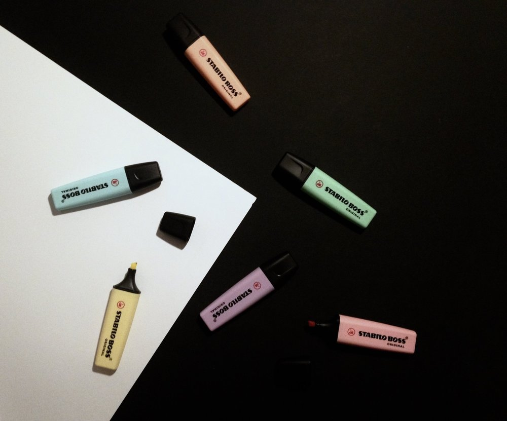 Stabilo Boss Pastel Text Markers