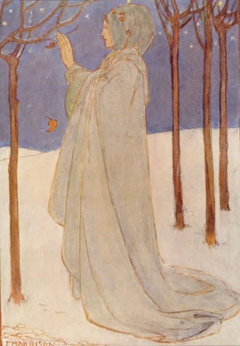 Florence Susan Harrison - An image from 'The Poems of Christina Rossetti'