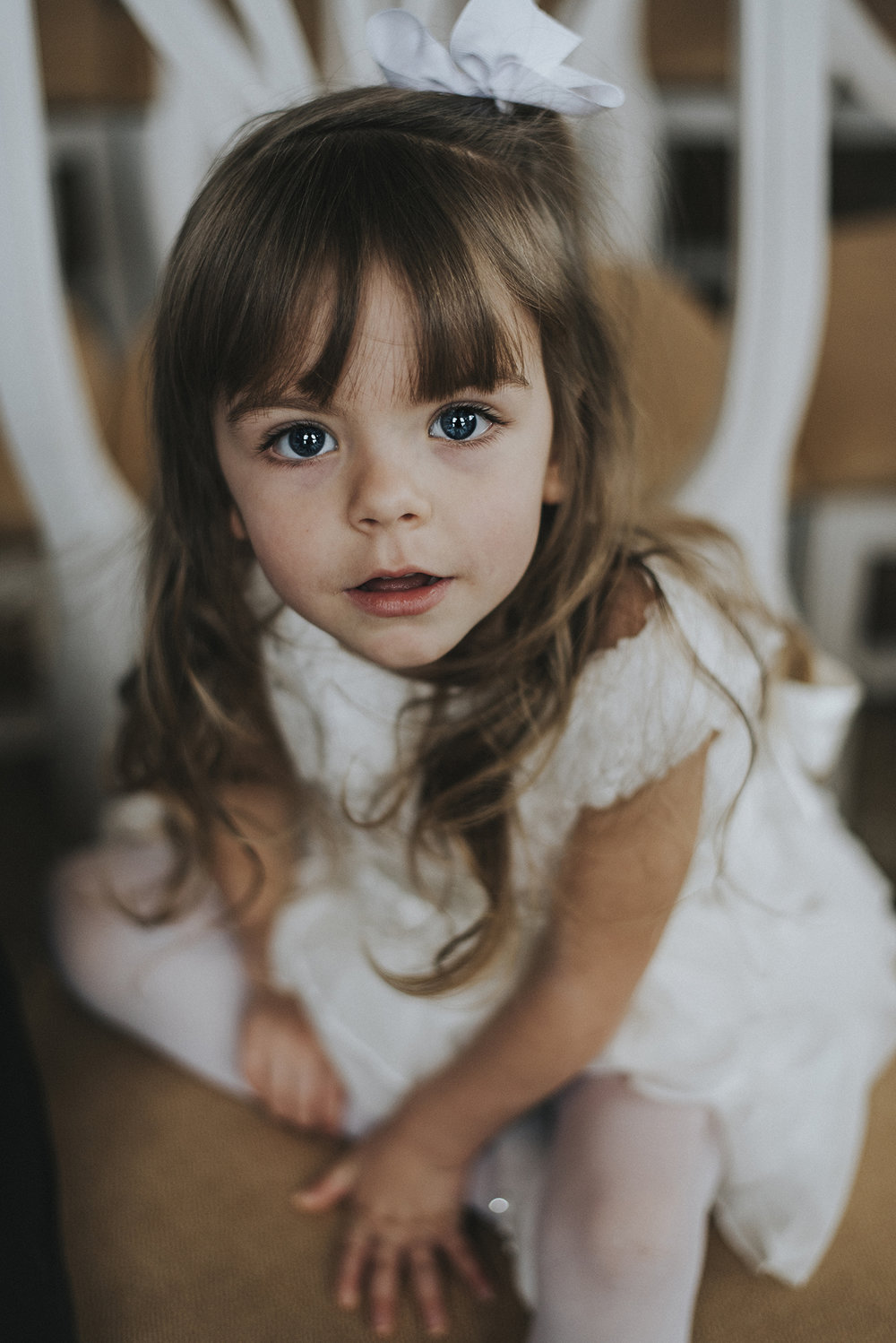 I captured this beautiful little girl at a wedding.