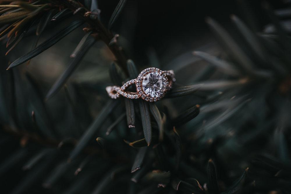 Emily's beautiful engagement ring!