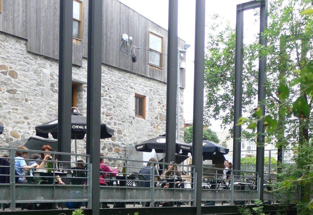 Terrasse Bistro des Moulins
