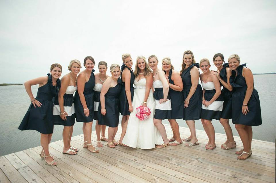 lemon & lime wedding: bridesmaid love! photo by Meaghan Elliott Photography.