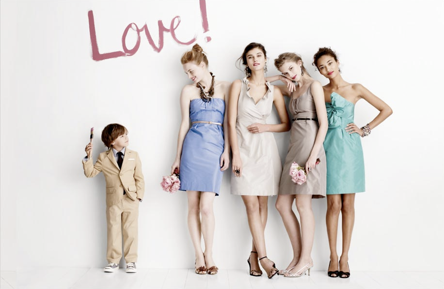 Always love J.Crew's bridesmaid collections!