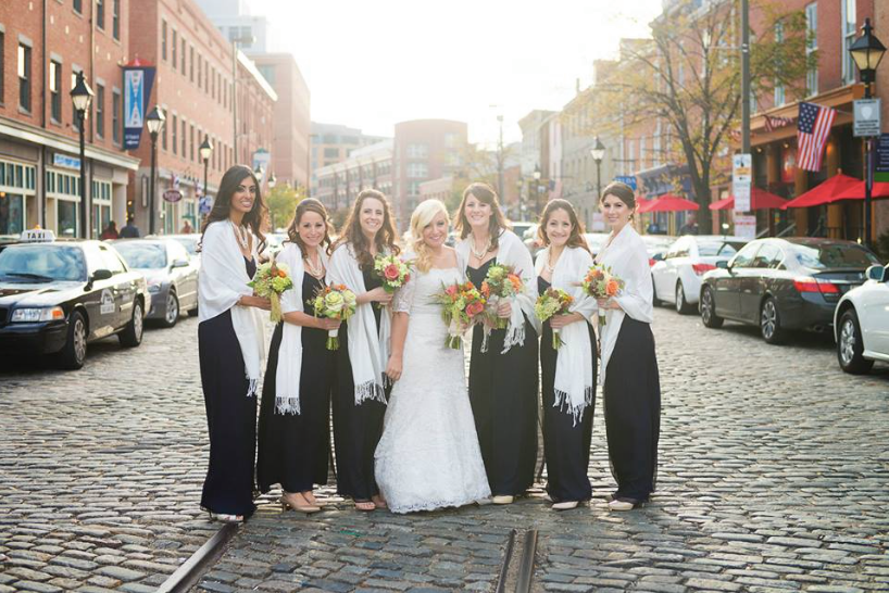 lemon & lime wedding: bridesmaid love! photo by Brooke Tyson Photography