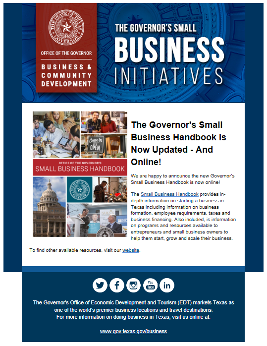 https://gov.texas.gov/uploads/files/business/2019_Governors_Small_Business_Online_Handbook.pdf