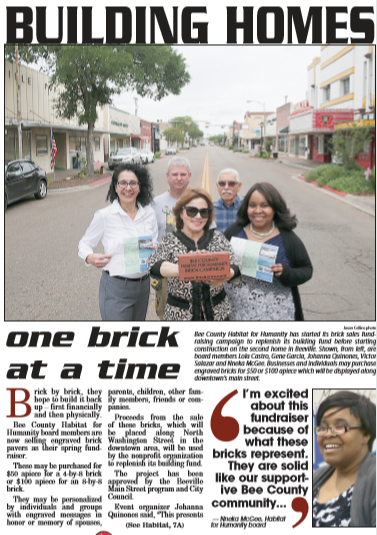 Habitat for Humanity Downtown Newspaper Article May 2, 2018.PNG