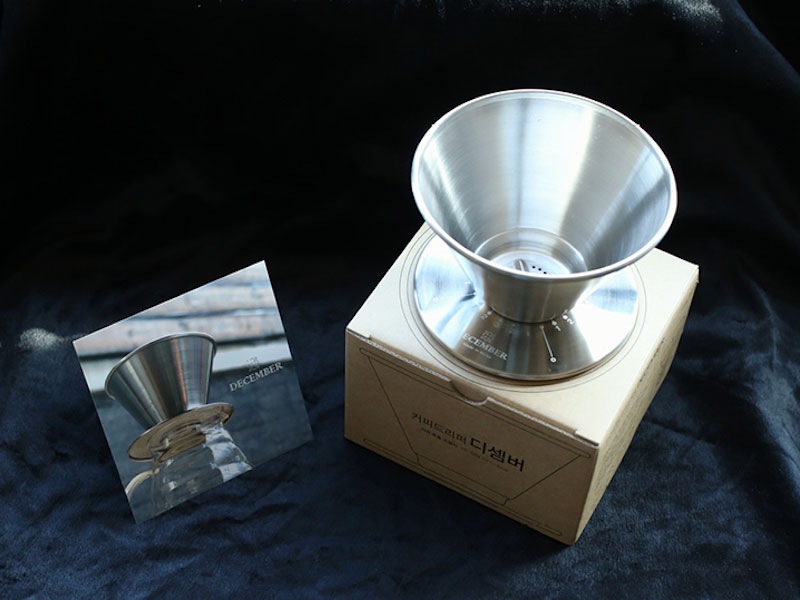 <b>Commercial Coffee or Tea<br> Preparation and Serving <br>Equipment (Non-Electrical)</b><br>December Dripper<br>by Acaia