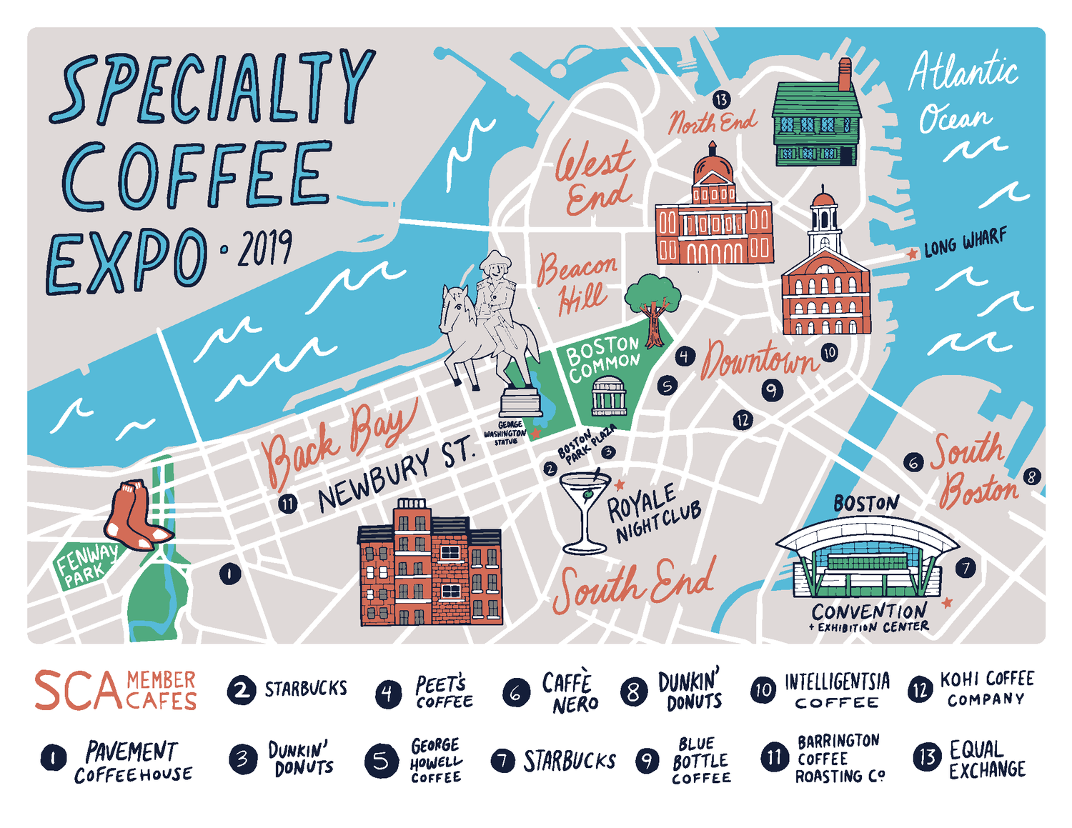 Map of the Day: Boston's Coffee — Specialty Coffee Expo Map Boston on massachusetts map, mass map, charles town map, pennsylvania map, ma map, lexington map, michigan map, u.s. state map, freedom trail map, ny map, usa map, fenway park map, texas map, new england map, phoenix map, mississippi map, america map, philly map, cambridge map, united states map,