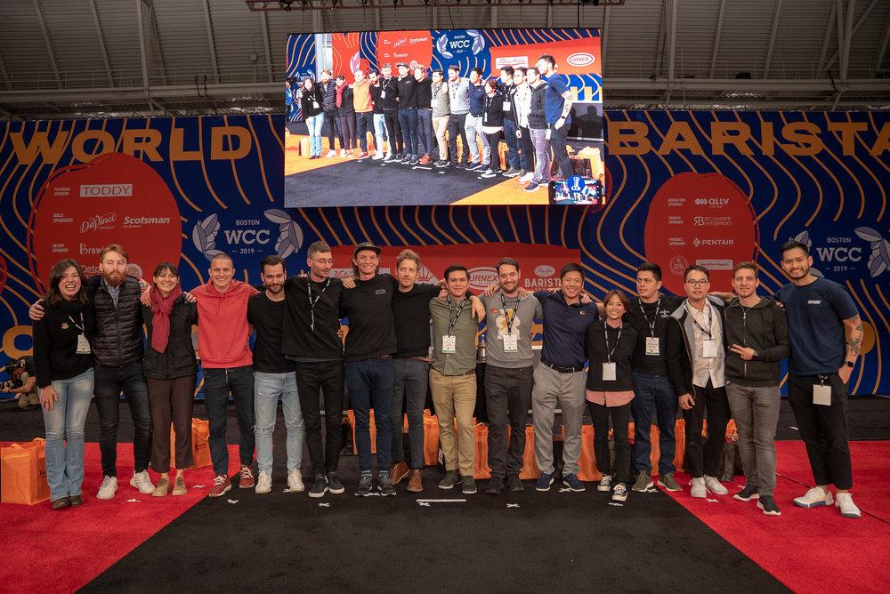 The 16 semi-finalists