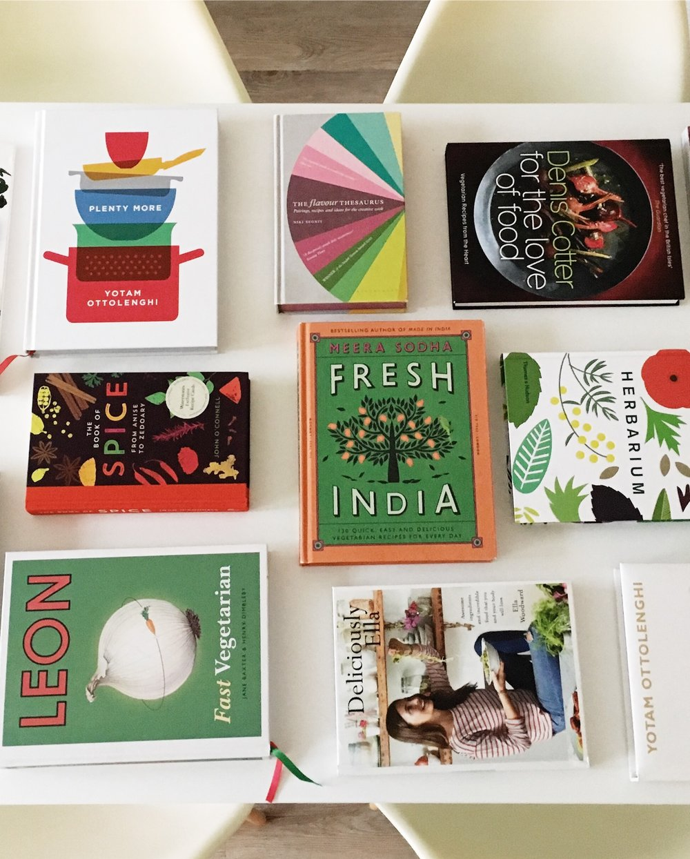 My Fave Vegetarian Cookbooks