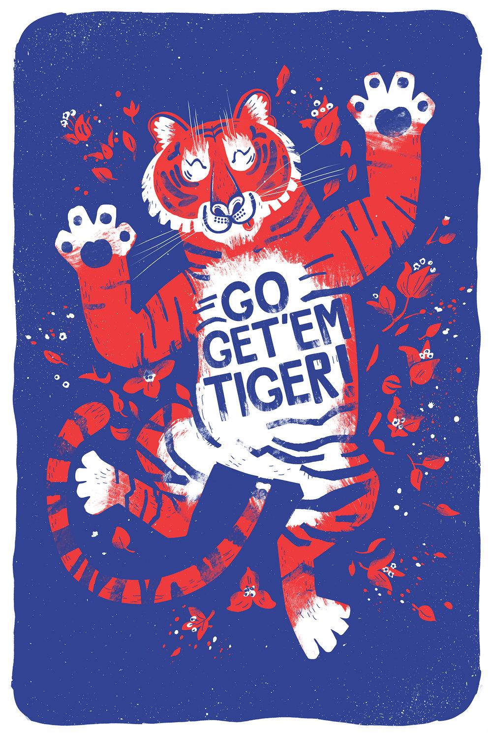 Chris Dickason Go Get Em Tiger