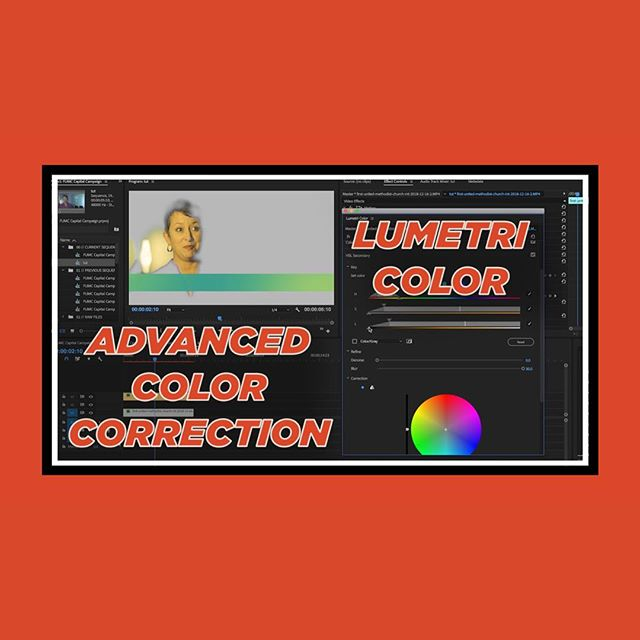 I just put up a tutorial on my YouTube for how to do the advanced color correction shown in my previous behind the scenes video. Link in my bio. The next video will show how to do the rotoscoping I showed in the bts. | #advanced #color #correction #colorcorrection #video #porduction #freelance