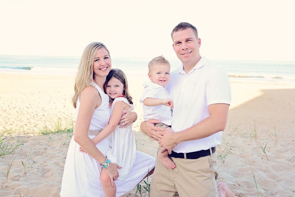 Sandbridge beach Virginia Beach Virginia family portrait Jan Casper Photography