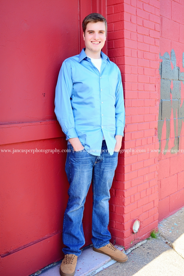 Neon Arts District Norfolk   senior portrait Jan Casper Photography Virginia
