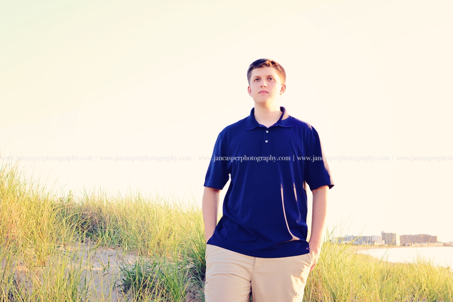 First Landing State Park senior portrait Virginia Jan Casper Photography